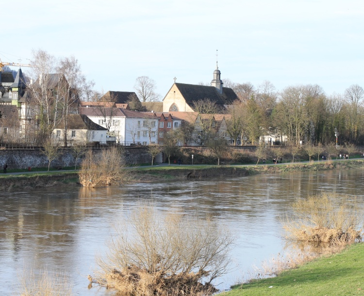 Aufführungsstätte Mitsing-Projekt Bach-Kantaten Marienkirche in Höxter a.d. Weser am 14. April 2013