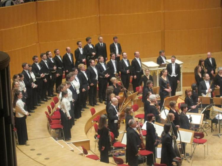 The Monteverdi Choir mit der Johannes Passion in der Philharmonie Köln (Fotorechte: Leen Roetman)