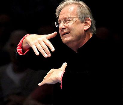 J.E. Gardiner beim Bach-Marathon in der Royal Albert Hall London