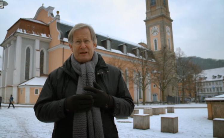 J.E. Gardiner im Februar 2013 an der Georgenkirche in Eisenach (Thüringen)