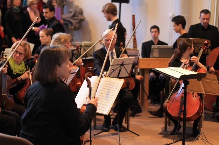 """""""Kammerorchester Sinfonetta Detmold"""" Bach-Kantaten in der  Marienkirche Höxter am 14. April 2013"""