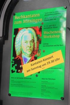 Bachkantaten zum Mitsingen in Höxter an der Weser (OWL) - am Sonntag, 14. April 2013 um 19:30 Uhr in der Marienkirche Höxter