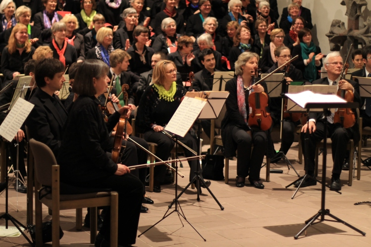 Orchester und Workshop-Chor
