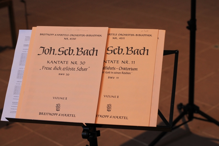 Programm: Bach-Kantaten zum Mitsingen Marienkirche Höxter 14. April 2013