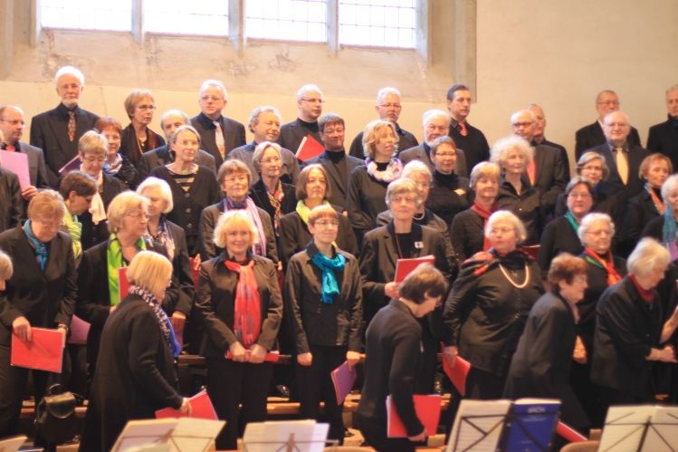 Worlshop-Chor Marienkirche Höxter 14 April 2013