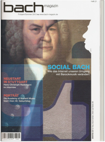 Bach-Magazin Ausgabe Mai 2013