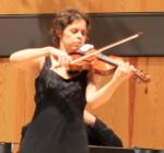 Dozentin der HfM Detmold Prof. Ulrike-Anima Mathé (Violine)