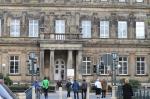 Das ehemalige Palaisgebäude vom Fürstlichen Hof wird jetzt von der HfM Detmold genutzt.