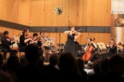 Johann Sebastian Bach Violinkonzert E-Dur BWV 1042 - Solistin: Prof. Ulrike-Anima Mathé, Violine (Dozentin an der HfM Detmold)