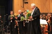 Schluss-Applaus für ein großartiges Eröffnungs-Konzert im Konzerthaus der HfM Detmold.