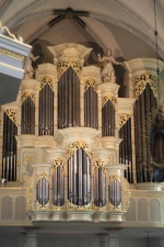 Größte Barockorgel Westfalens in der Pfarrkirche St. Johannes Baptist