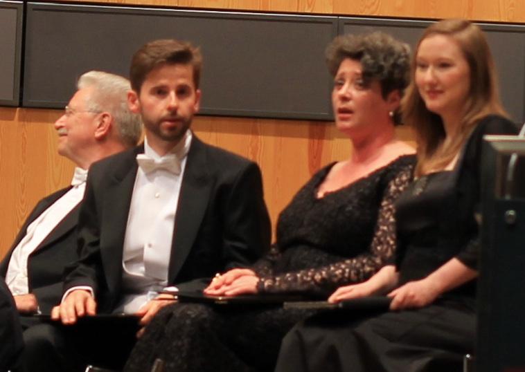 Von links: Klaus Mertens (Bass) Daniel Johannsen (Tenor) Gerhild Romberger (Alt) Dorothee Mields (Sopran)