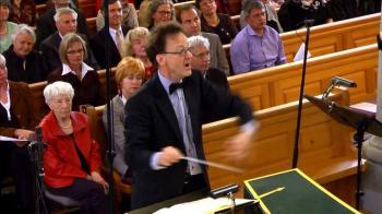 Dirigent Rudolf Lutz J.S. Bach-Stiftung St. Gallen