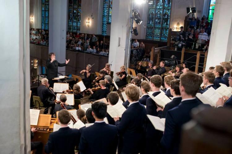 Abschlusskonzert mit dem Thomanerchor Foto: Gert Mothes