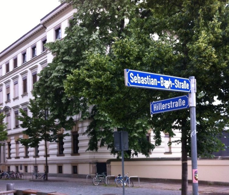 Alumnat Thomaner Hiller Str. und Sebastian Bach Str.  in Leipzig Foto: W. Adam