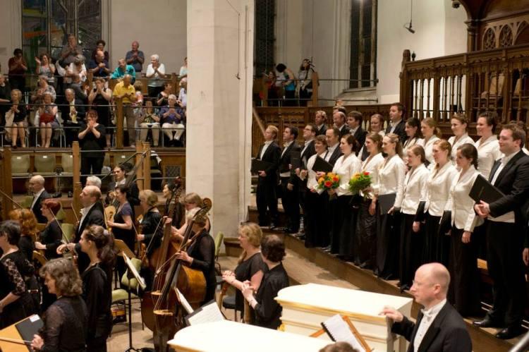 BachFest 2013 Leipzig  Thomaskirche  J.E. Gardiner Monteverdi Choir EBS - BWV 245 Johannes Passion Foto: Gert Mothes
