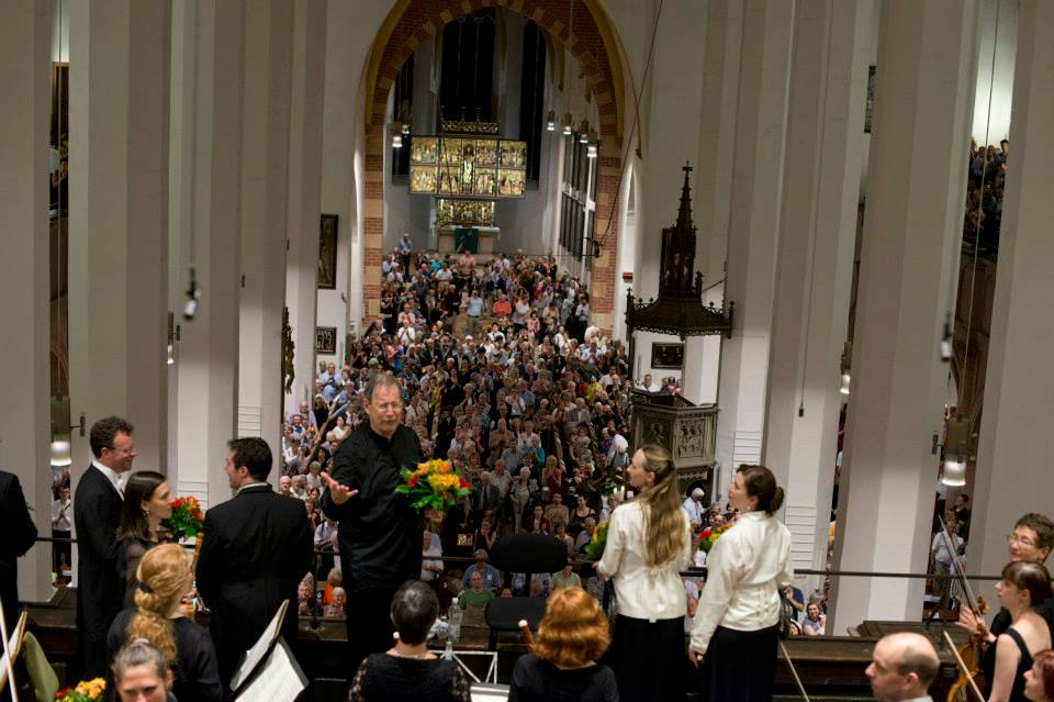 BachFest 2013 Leipzig  J.E. Gardiner - Thomaskirche BWV 245 Johannes Passion Foto: Gert Mothes