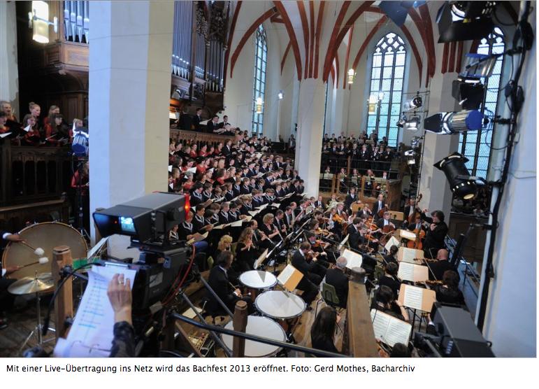Bachfest Leipzig 2013 startete am 14.6.2013