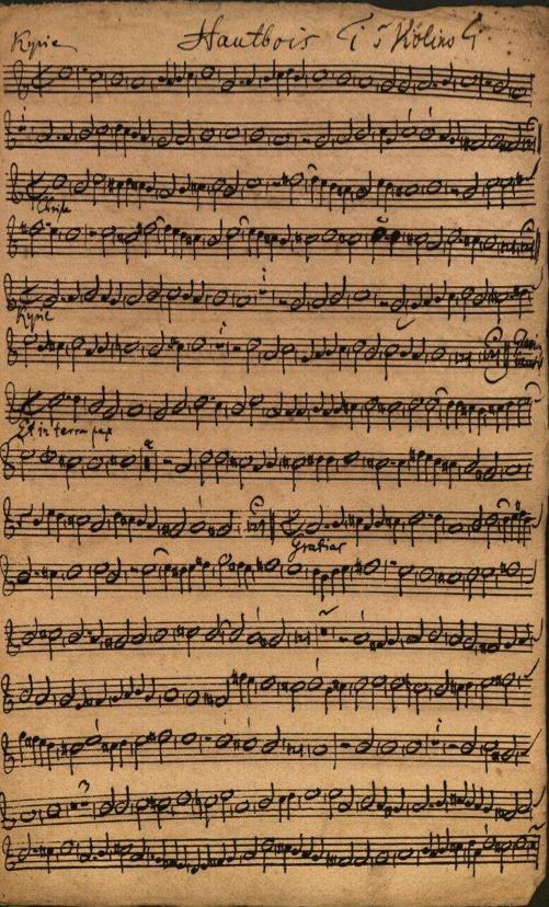 Eine 273 Jahre alte Handschrift des Barockkomponisten J.S. Bach in Weißenfels entdeckt.