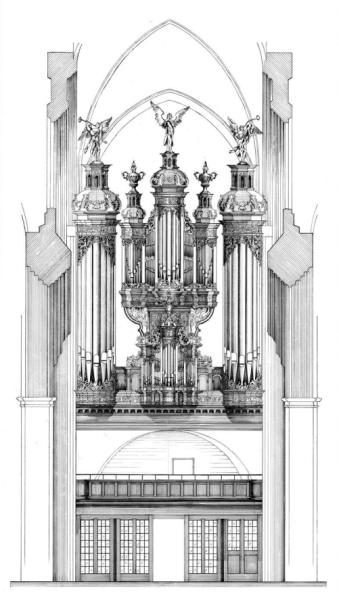 Eine Orgel für Bach. Hauptkirche St. Katharinen Hamburg