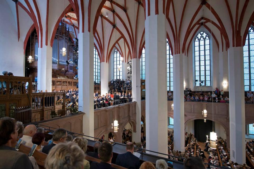 Eröffnungskonzert traditionell in der Thomaskirche Foto Gert Mothes