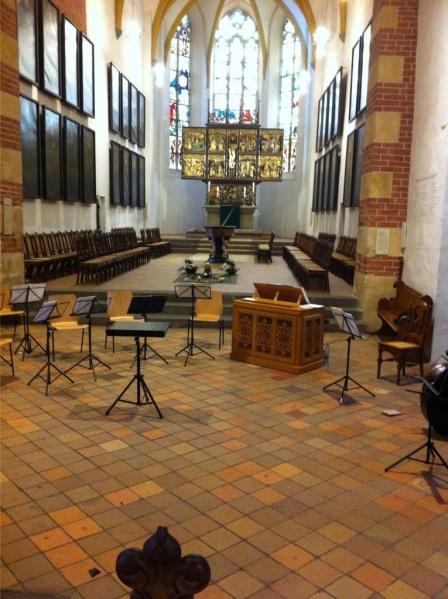 Mette zum Bachfest Leipzig 2013 in der Thomaskirche Foto: W. Adam)