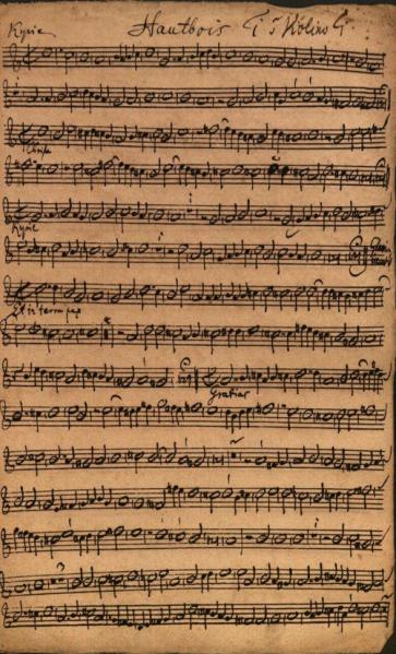 Unbekannte Handschrift Johann Sebastian Bachs entdeckt. Foto Bach Archiv