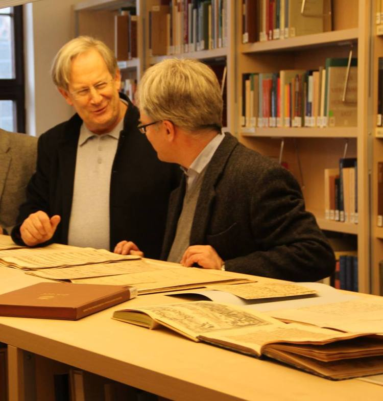 Sir J.E. Gardine und Dr. Peter Wollny übernehmen  ab Januar 2014 das BachArchiv Leipzig.