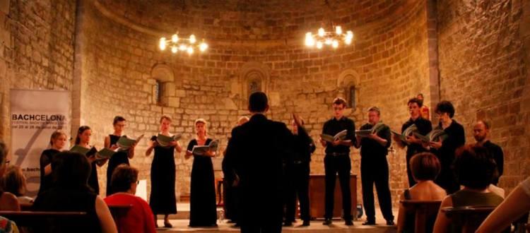 """Chor BZM"" Bach Zum Mitsingen - BACHCELONA BACH A CAPELLA in Barcelona  2013"