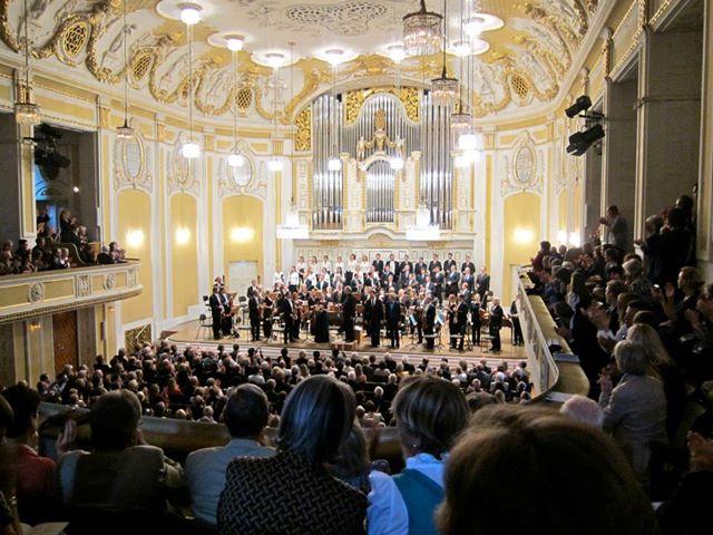 J.E. Gardiner und The Monteverdi Choir in Salzburg bei den Festspielen 2013 (Foto: Leen Roetmann)