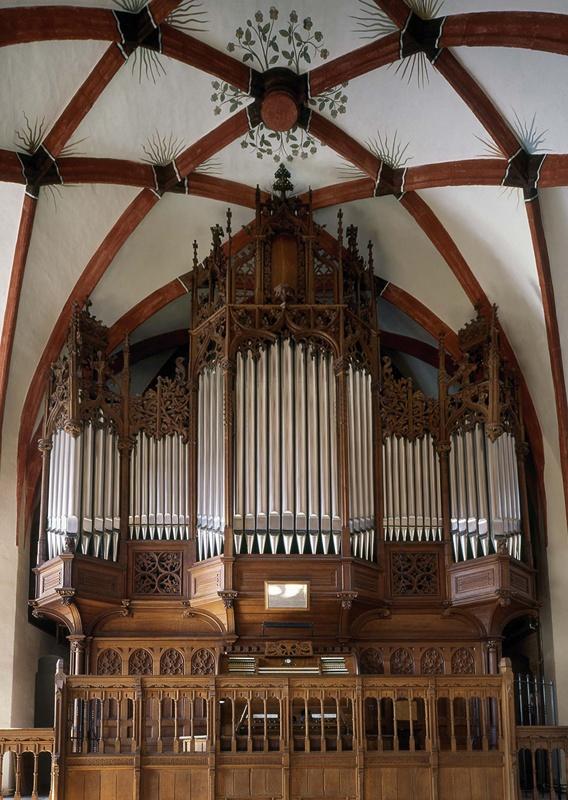 Die Sauer-Orgel in der Thomaskirche Leipzig
