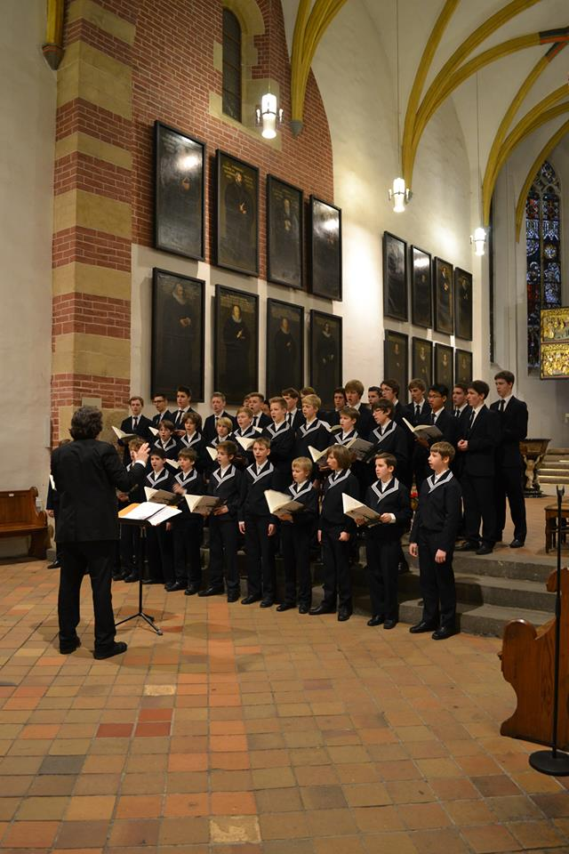 Thomanerchor in der Thomaskirche in Leipzig. Foto: Phonus - Der Kulturverlag