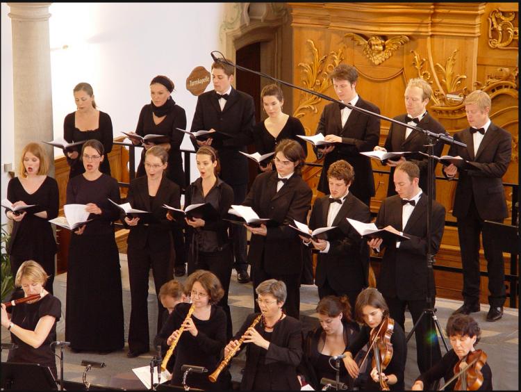 Chor und Orchester der J.S. Bach-Stiftung St. Gallen