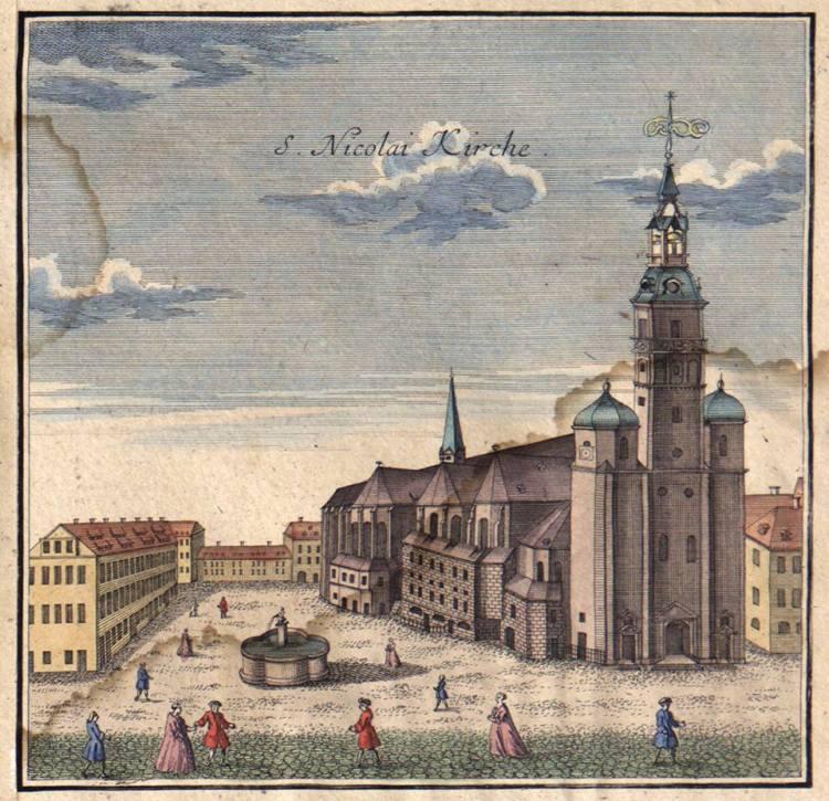 """""""San Niccolò a Lipsia"""" - Die Nikolaikirche in Leipzig"""