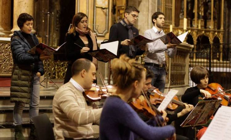 Vokal-Konzert beim Bach Festival BACHCELONA 2014