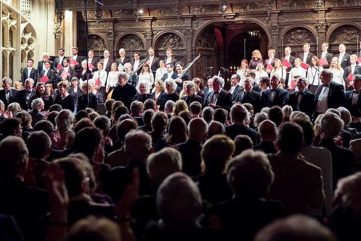 """50 Jahre """"The Monteverdi Choir"""" Konzert in King's London am 5. März 2014"""