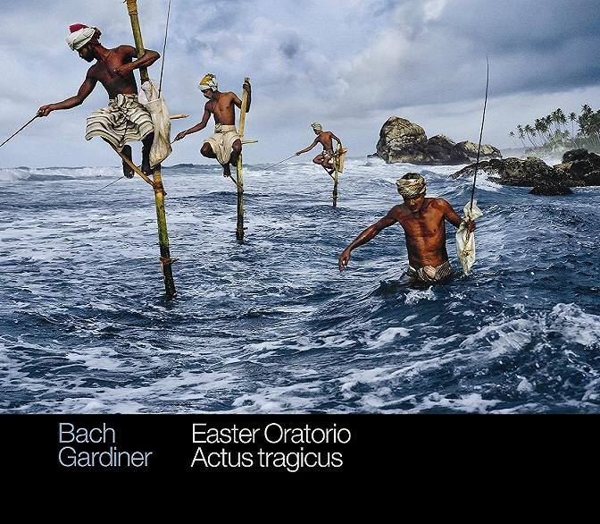 Cover New CD SDG - J.S. Bach Bach Easter Oratorio: Actus Tragicus.