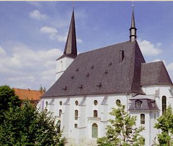 Herderkirche in Weimar. In der Herder Kirche wurden sieben Kinder Johann Sebastian Bachs getauft.