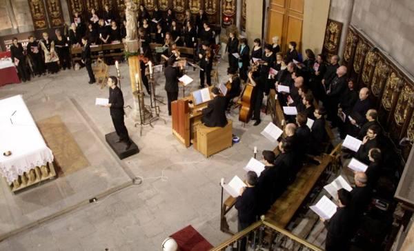 Bach Zum Mitsingen -  Basílica de Santa María del Pi - Barcelona 2014