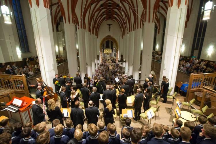Eröffnungs-Konzert zum Bachfest Leipzig 2014 Thomaskirche  Leipzig