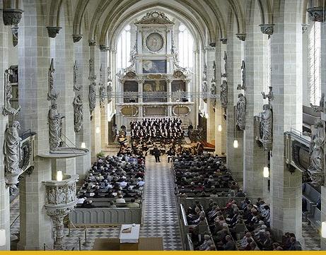 Dom in Halle a.d.Saale. Ort der Händel-Festspiele 2014