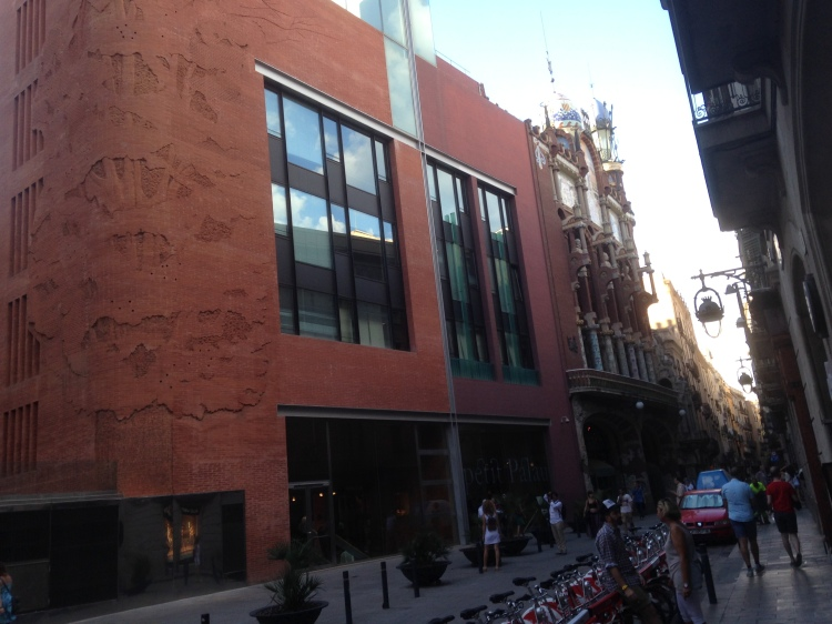 Palau de la Música Catalunya in Barcelona