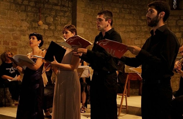 """Gran concert dels solistes de la Beca Bach in der """"Basilica de Sant Just i Pastor (Barcelona)"""