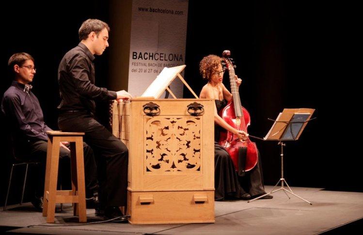 Organist: Juan De La Rubia und Lixsania Fernandez Marrero (Gambe) im Gran Teatre del Liceu Barcelona