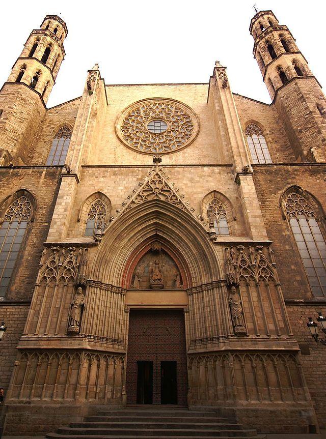 Basilika Santa Maria del Mar in Barcelona