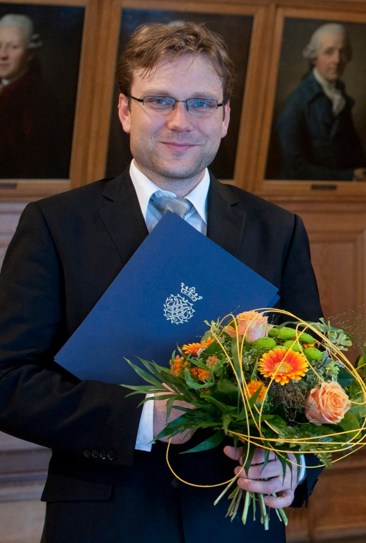 """Bachpreisträger 2012 in Leipzig - wurde als erster Counter ausgezeichnet   """"Benno Schachtner"""""""