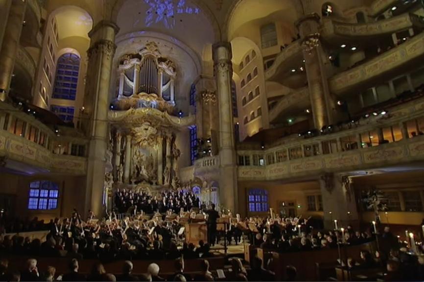 J.S. Bach - Weihnachtsoratorium Frauenkirche Dresden