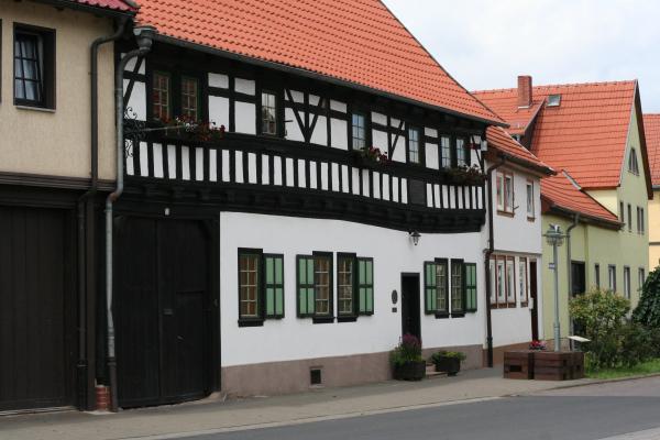 Stammhaus der Bache in Wechmar (Thüringen)