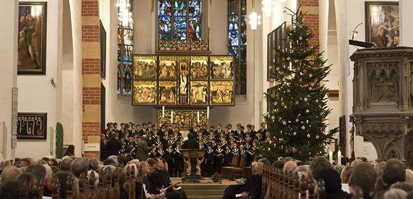 J.S. Bach BWV 248 - Aufführung vom Weihnachtsoratorium in der Thomaskirche Leipzig
