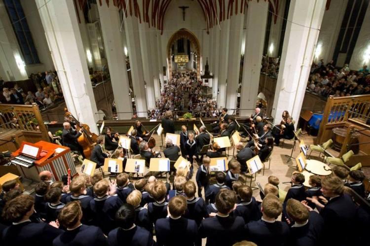 Bachfest Leipzig 2014 mit dem thomanerchor.